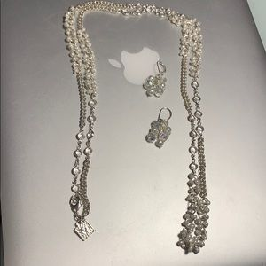Anne Kline necklace and earrings set